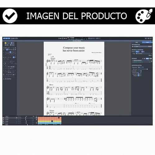 guitar pro 7 - programa, tablaturas, manual y mas