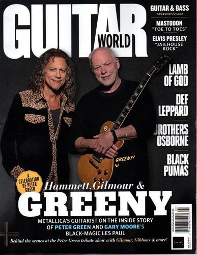guitar world revista -  assinatura 6 revistas avulsas