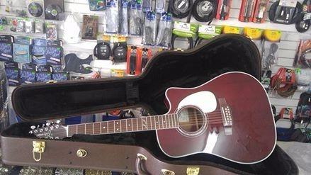 guitarra 12 cuerdas takamine jj
