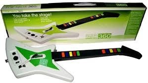 guitarra 5 en 1 inalambrica ps2/ ps3/ xbox 360/ wii/ pc