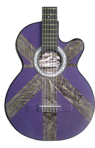 guitarra acustica afinador electronico forro púa garantia