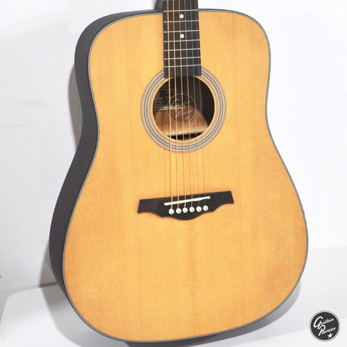 guitarra acustica + ampli 10w + funda + cable + pua + combo