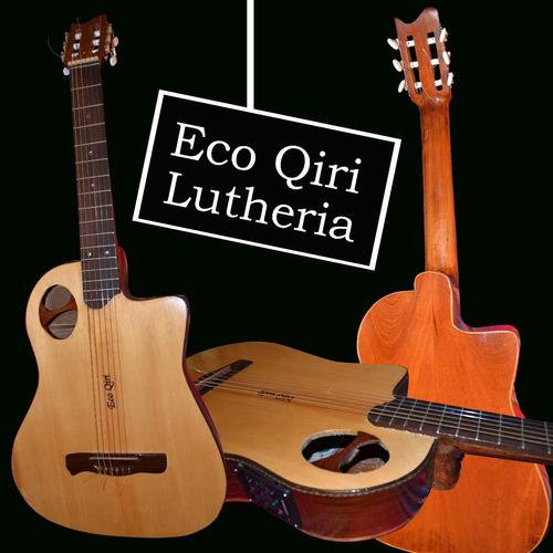 guitarra acústica criolla clásica luthier (a pedido)