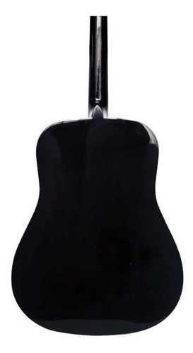 guitarra acústica cuerdas metálicas c/forro y vitela calidad