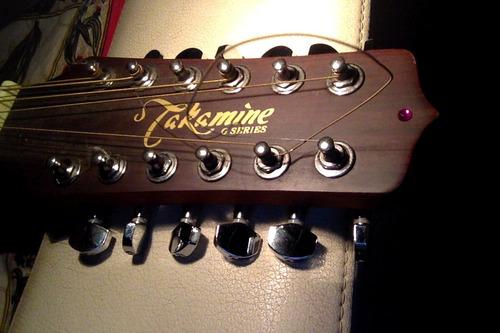 guitarra acustica de 12 cuerdas takamine eg510s-12
