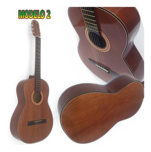 guitarra acústica de madera cedro y diferentes colores