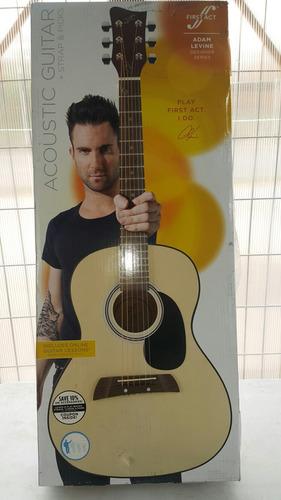 guitarra acústica edición especial adam levine envío gratis!