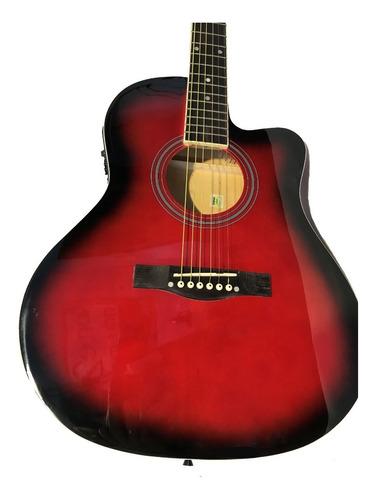 guitarra acústica eléctrica