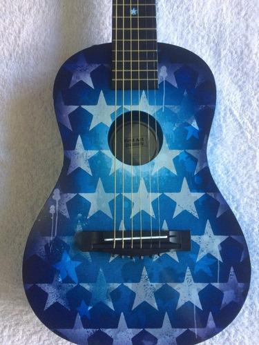 guitarra acustica first act discovery, estrellas azules
