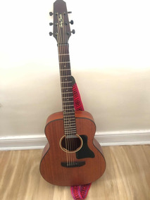 Guitarra Acustica Harley Benton Mini Gs Travel