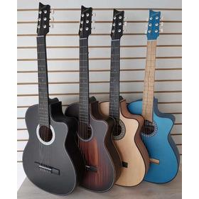 Guitarra Acústica Mate +forro+método +pick +envío Gratis