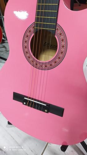 guitarra acústica nueva rosada s/.170