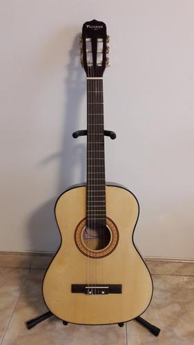 guitarra acústica para viaje mediana tamaño 3/4 + forro