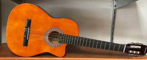 guitarra acústica recortada 39 pulgadas