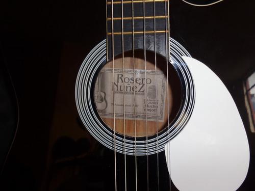 guitarra acustica rosero nuñez nueva
