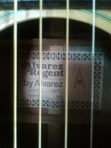 guitarra acústica texana country álvarez