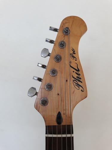 guitarra adaptada zurda marca phil pro buen estado oferta