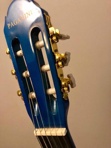 guitarra azul paganini