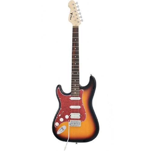 guitarra canhoto strato power hss sth 3ts lh phx 3321