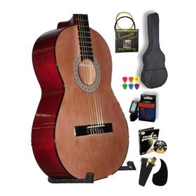 Guitarra Clasica Accesorios De Regalo Y Afinador