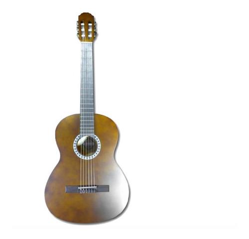 guitarra clasica acustica marca valencia 4/4 n02 + estuche