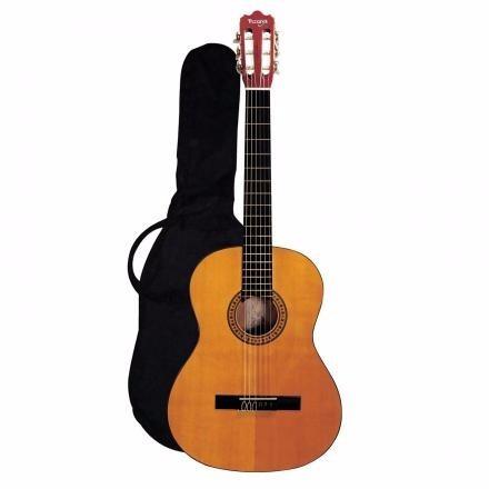 guitarra clásica castilla con funda vizcaya
