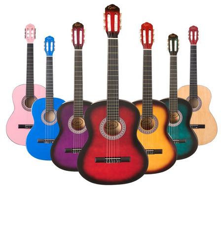 guitarra clásica color a elección despacho gratis