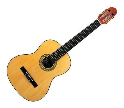 guitarra clasica con cuerdas de nylon/natural