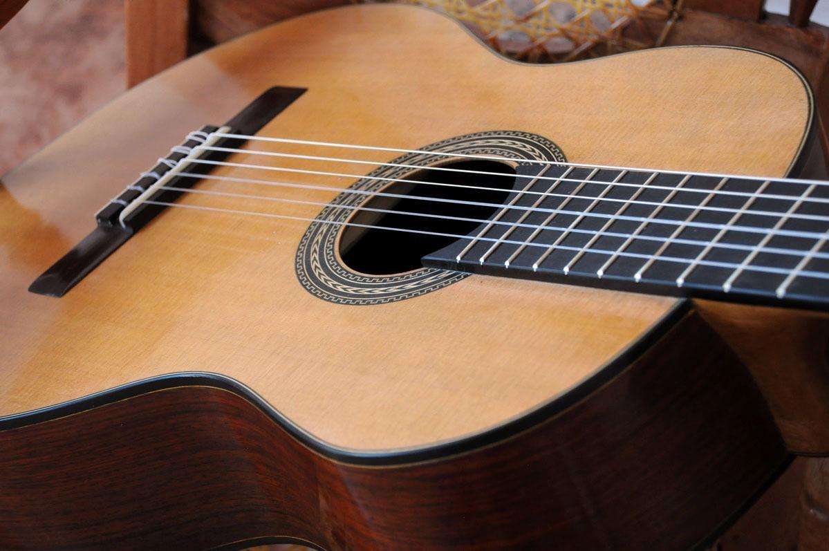 Guitarra clasica de concierto marcos mendez ramirez for Guitarras la clasica
