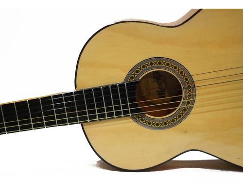 guitarra clasica en paquete todo incluido capo pack
