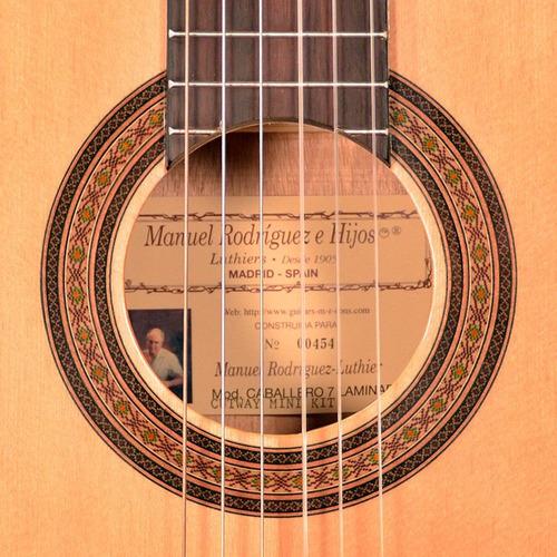 guitarra clásica manuel rodriguez caballero 7 cutway