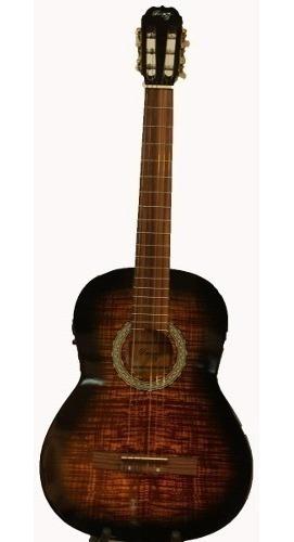 guitarra clásica master con eq3 parquer