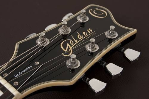 guitarra cor golden