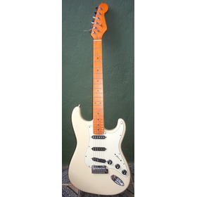 Guitarra Corpo Fender  Player Mn Buttercream Alexader Pribor