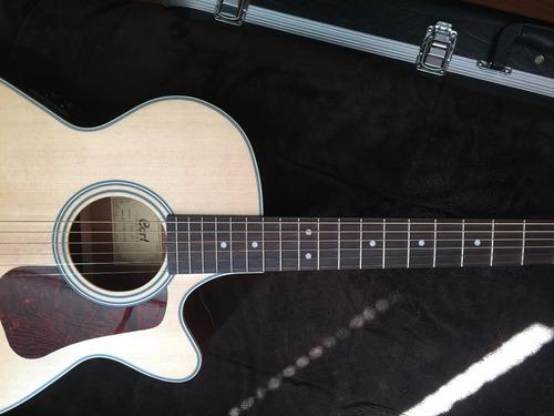guitarra cort electroacustica l100f ns 215.000