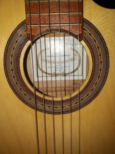 guitarra criolla clasica antigua casa nuñez c/corte estudio