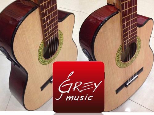 guitarra criolla clasica avanzada con microfono ecualizador