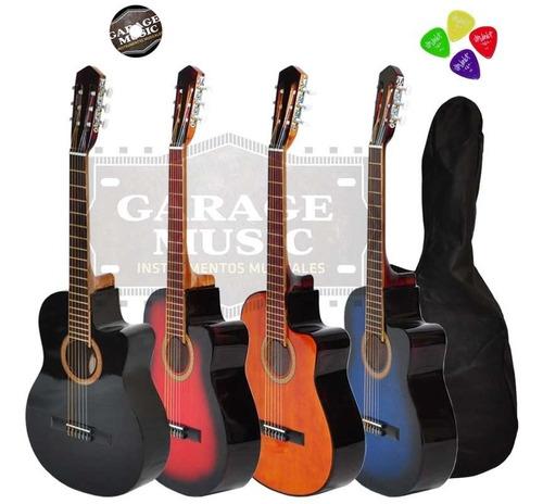 guitarra criolla clasica corte funda pua garantia curso cd