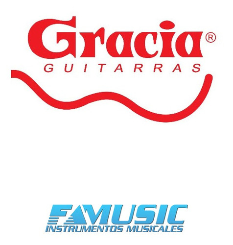 guitarra criolla clasica electroacustica gracia modelo m10 q