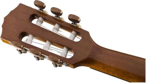 guitarra criolla - clásica fender cn-60s color natural