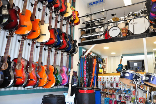 guitarra criolla clasica mini niños funda pua curso cd