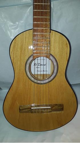 guitarra criolla clásica niño + funda + 3 púas + envíogratis