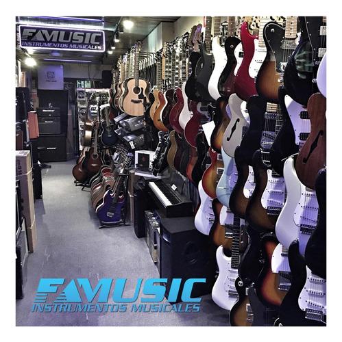 guitarra criolla clasica premium - funda - instrumentos musi