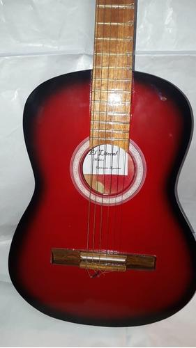 guitarra criolla clásica + púa + funda + envío gratis