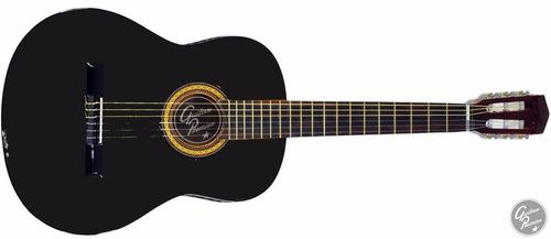 guitarra criolla electroacustica ampli 10w funda accesorios