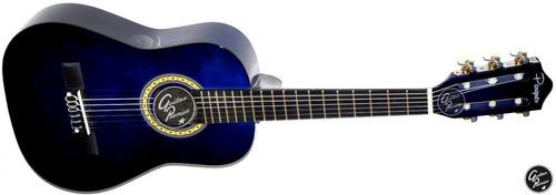 guitarra criolla electroacustica niño + ampli laney + funda