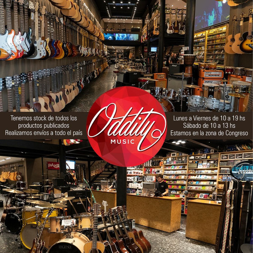 guitarra criolla fonseca 38 kec con eq media caja - oddity