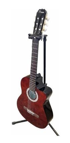 guitarra criolla master con corte parquer gcc100lb