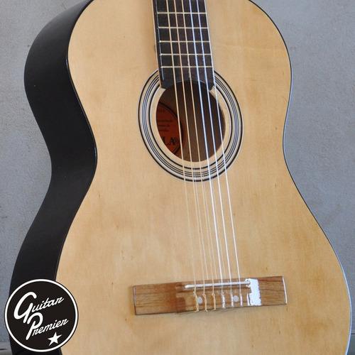 guitarra criolla pack x 12 unidades funda pua garantia envio