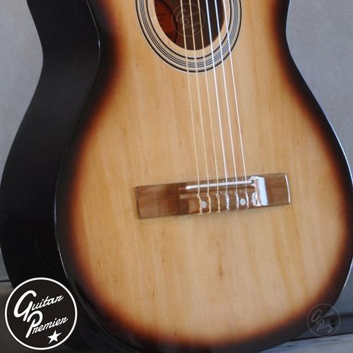 guitarra criolla pack x 6 unidades funda pua garantia envios
